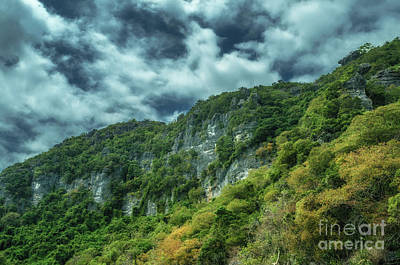 Photograph - Rocky Landscape by Michelle Meenawong