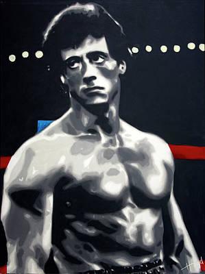 Painting - Rocky by Hood alias Ludzska