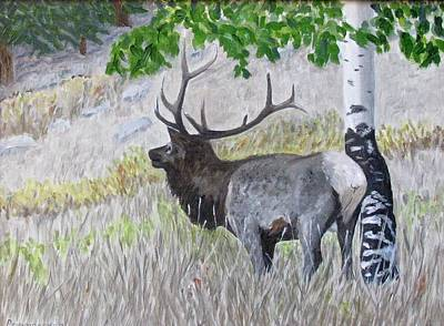 Painting - Rocky Mountain Elk by Barb Pennypacker