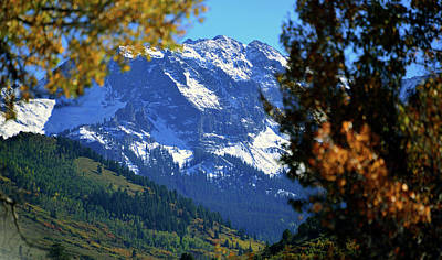 Photograph - Rocky Mountain Fall by David Lee Thompson