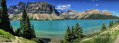 Photograph - Rocky Mountains Panorama by Patricia Hofmeester