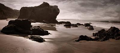 Photograph - Rocky Shores by Leda Robertson
