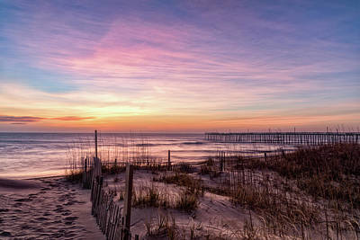 Photograph - Rodanthe Sunrise by Russell Pugh