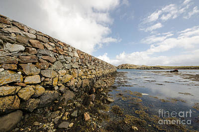 Isle Of Harris Wall Art - Photograph - Rodel by Smart Aviation