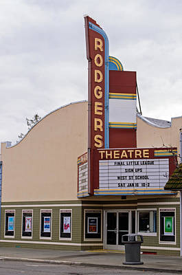 Photograph - Rodgers Theatre by Tikvah's Hope