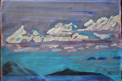 Painting - Roerich by Vikram Singh