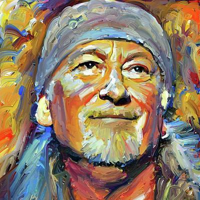 Digital Art - Roger Glover Deep Purple Portrait 1 by Yury Malkov