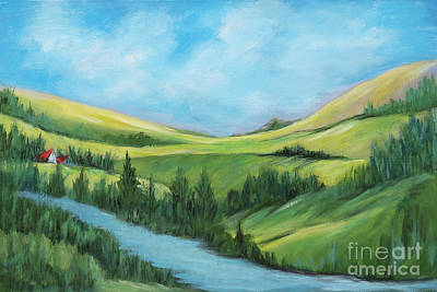 Painting - Rolling Hills by Pati Pelz
