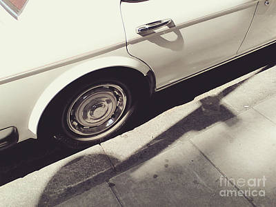 Art Print featuring the photograph Rolls Royce Baby by Rebecca Harman