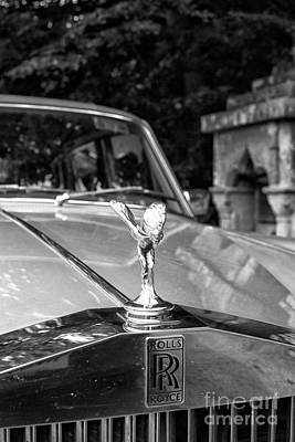Photograph - Rolls Royce  by Patricia Hofmeester
