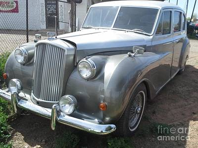 Automobile Photograph - Rolls Royce Silver Wraith by Frederick Holiday