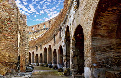 Photograph - Roman Colosseum by Anthony Dezenzio