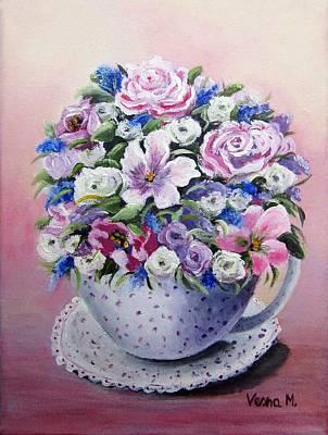 Painting - Romantic Bouquet by Vesna Martinjak