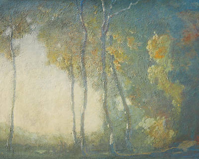 Painting - Romantic California Landscape 1 by Paul Ashby Antique Paintings