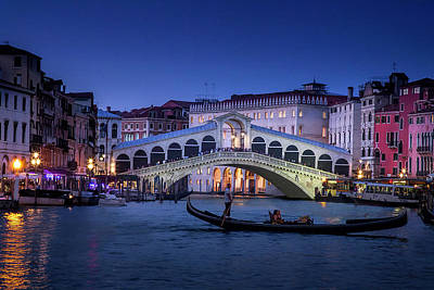 Photograph - Romantic Venice by Andrew Soundarajan