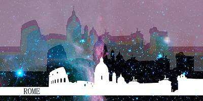 Europe Digital Art - Rome 2 by Alberto RuiZ