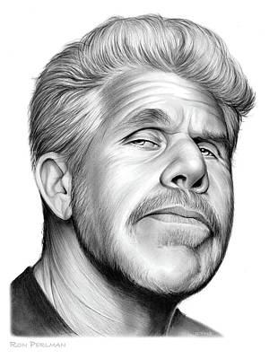 Celebrities Royalty-Free and Rights-Managed Images - Ron Perlman by Greg Joens