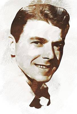 Politicians Royalty-Free and Rights-Managed Images - Ronald Reagan, Actor, President by John Springfield