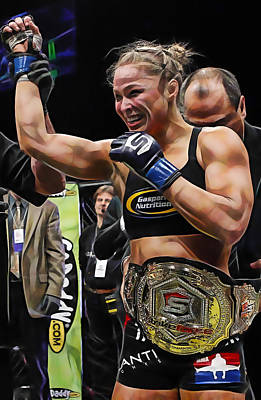 Photograph - Ronda Jean Rousey by Marvin Blaine