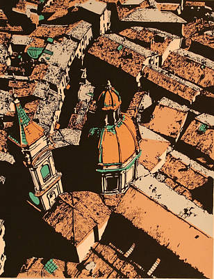 Roofs Of Bologna Art Print by Biagio Civale
