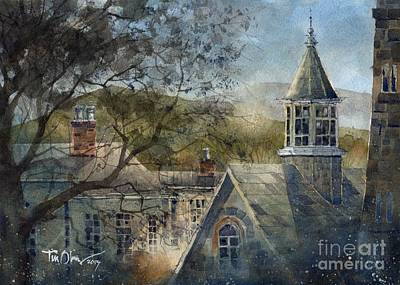 Rooftops Of Old Edwards Art Print by Tim Oliver