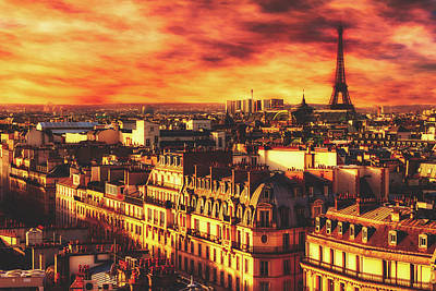 Photograph - Rooftops Of Paris by Pixabay