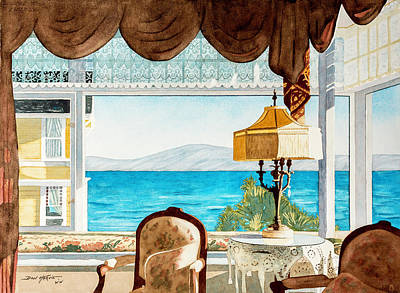 Room With A View Original by Don Harvie