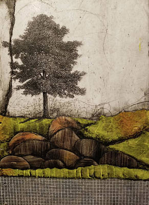 Landscape Mixed Media - Rooted by Laura Lein-Svencner