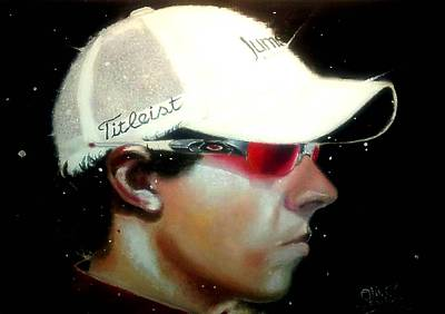 World No. 1 Painting - Rory by Oliver McParland