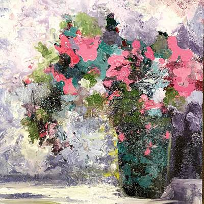 Painting - Rose Bouquet by Karen Ahuja