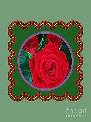 Photograph - Rose Flower Floral Posters Photography And Graphic Fusion Art Navinjoshi Fineartamerica Pixels by Navin Joshi