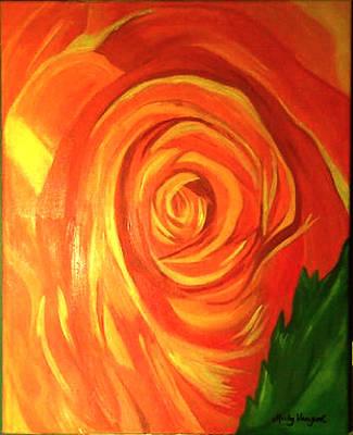 Rose Art Print by Misty VanPool