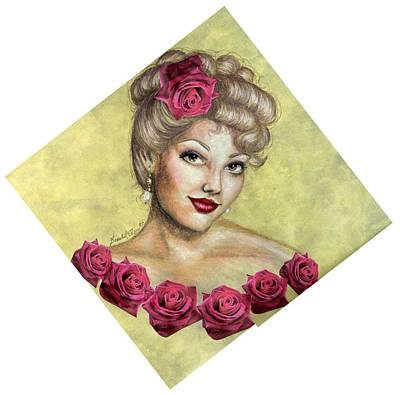 Rose Art Print by Scarlett Royal