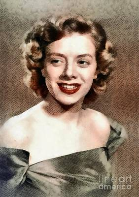 Music Paintings - Rosemary Clooney, Music Legend by Esoterica Art Agency