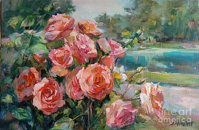 Painting - Roses by Angelina Nedin