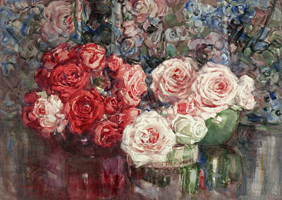 Painting - Roses by Margaret Stoddart