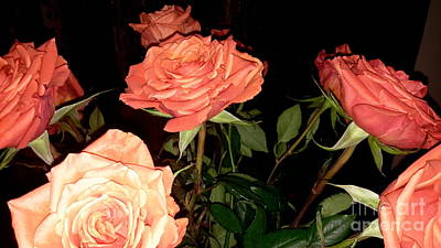Photograph - Roses For Holiday by Oksana Semenchenko