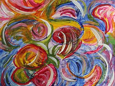 Painting - Roses by Sarahleah Hankes