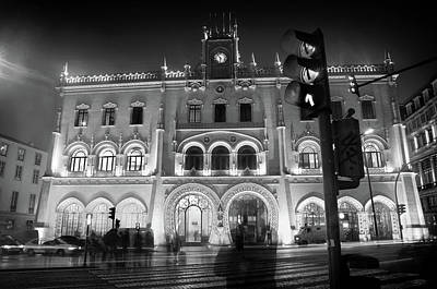 Photograph - Rossio Train Station by Carlos Caetano