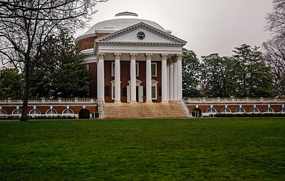 Photograph - Rotunda At U V A by Jerry Gammon
