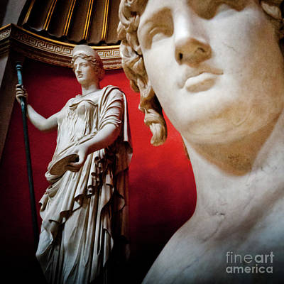 Warrior Goddess Photograph - Rotunda Colossals 3 Of 3 by Andy Smy