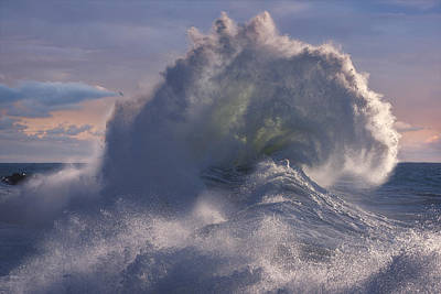 Photograph - Rough Sea 19 by Giovanni Allievi