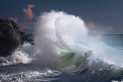 Photograph - Rough Sea 2 by Giovanni Allievi