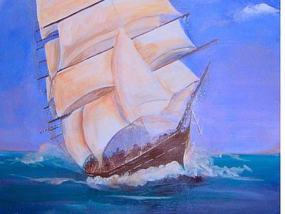 Painting - Rough Seas by Catherine Swerediuk