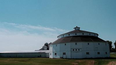 Photograph - Round Barn by Photography by Tiwago