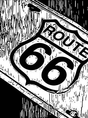 Photograph - Route 66 by Bill Owen
