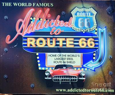 Photograph - Route 66 by Douglas Miller