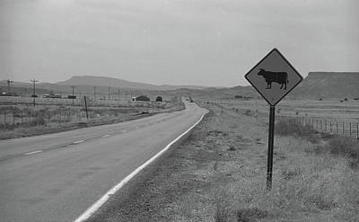 Route 66 - New Mexico Highway Art Print