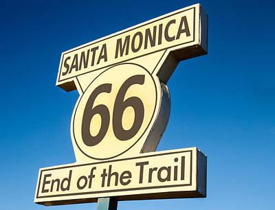 Photograph - Route 66 by Robert Hebert