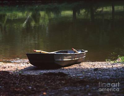 Photograph - Rowboat by John Bowers